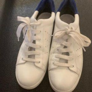 Vince Leather and Suede Sneakers